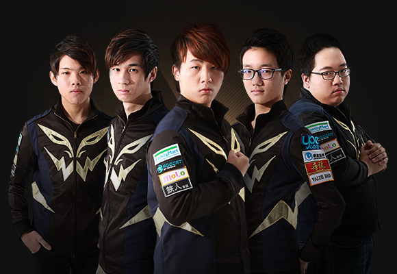 Flash Wolves background