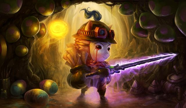 In support of Teemo, the swift scout