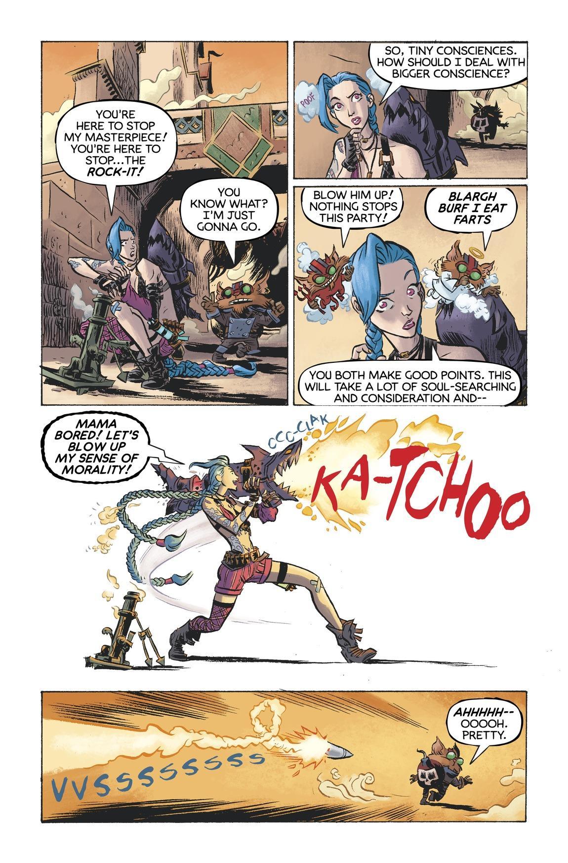 Ziggs & Jinx: Paint the Town - Comics - Universe of League
