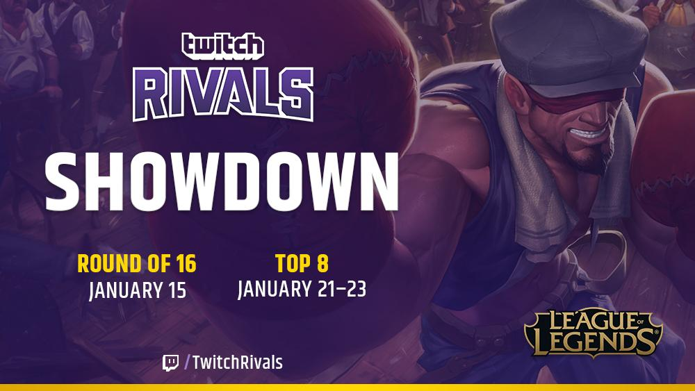 Twitch Rivals: League of Legends Showdown | League of Legends