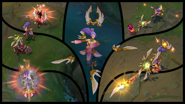 Order Of The Lotus Irelia Strikes At Equilibrium League Of Legends
