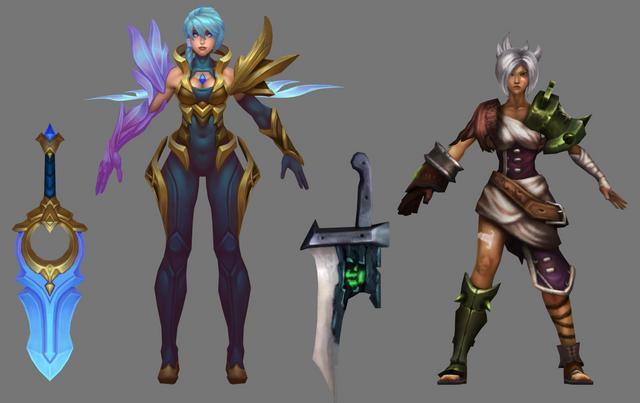 Düzenin Ve Kaosun Animasyonu League Of Legends