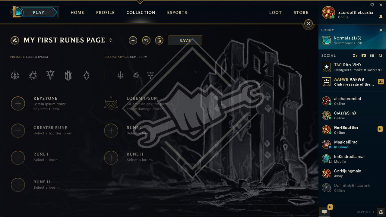 Each Path has its own unique theme, identity, and set of slots. Runes are  still a project in progress, but below is some concept art for the new  Paths.