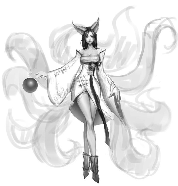 Orígenes Ahri League Of Legends