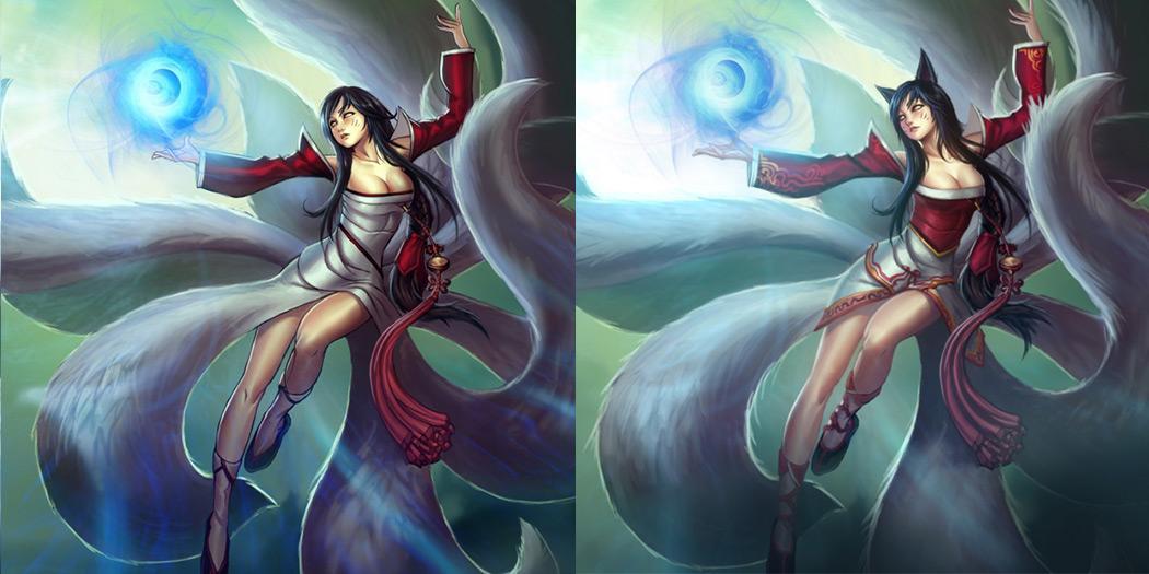Origins Ahri League Of Legends