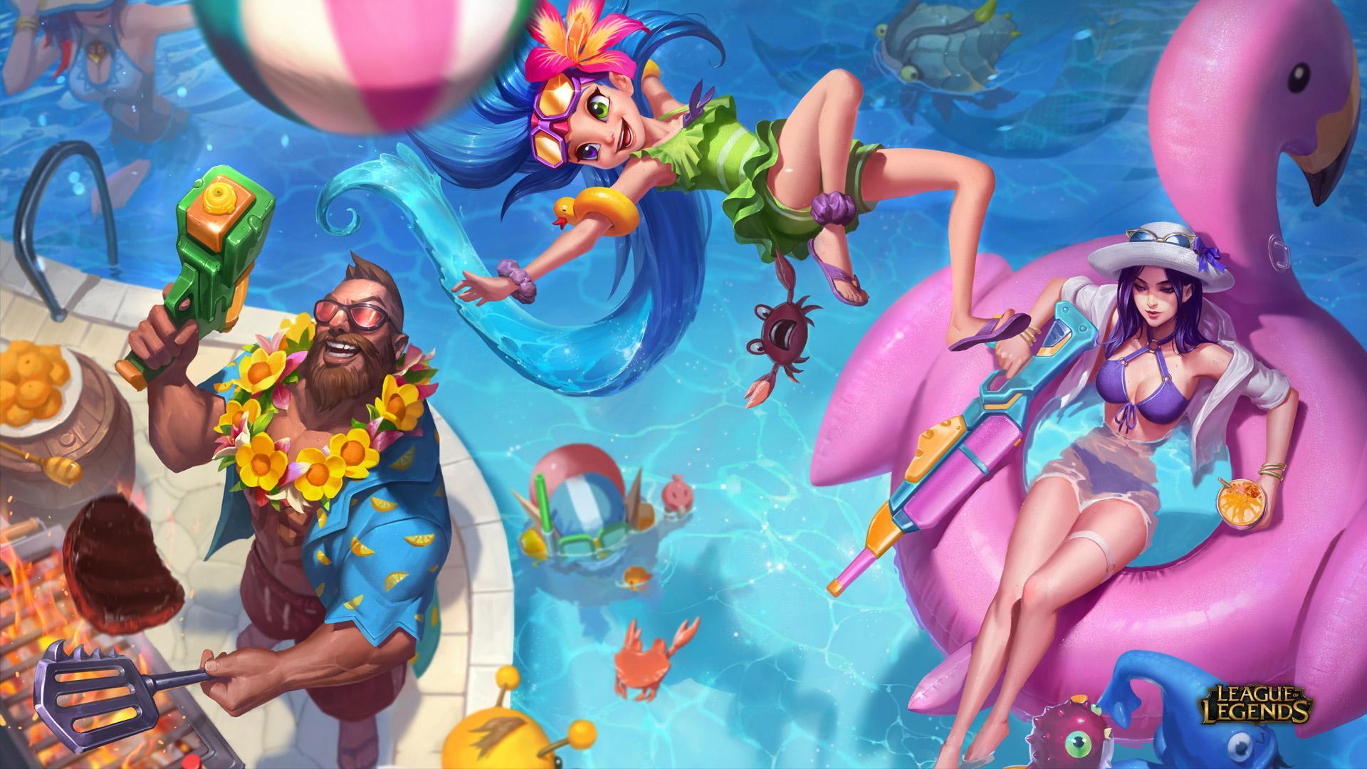 Mehr Erfahren Poolparty 2018 League Of Legends