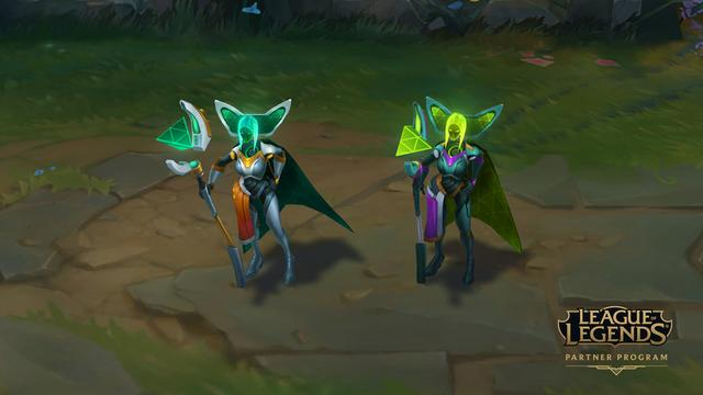 Upcoming Changes To League Partner Chromas League Of Legends