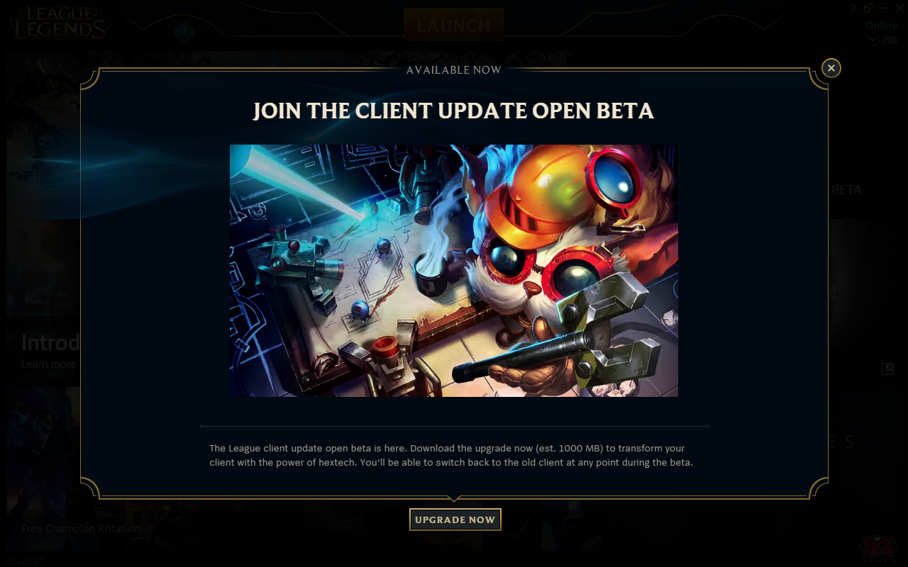 The Client Update Alpha Ending Soon | League of Legends