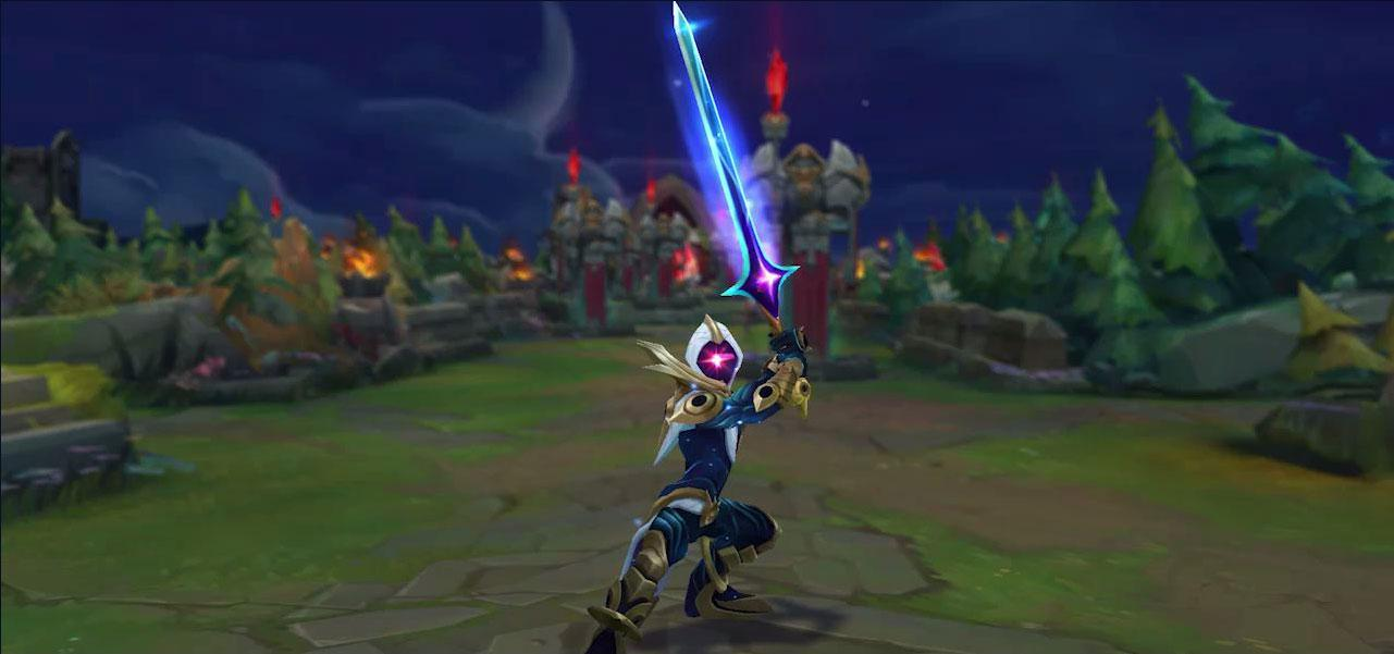 Cosmic Blade Master Yi slices through the stars | League of