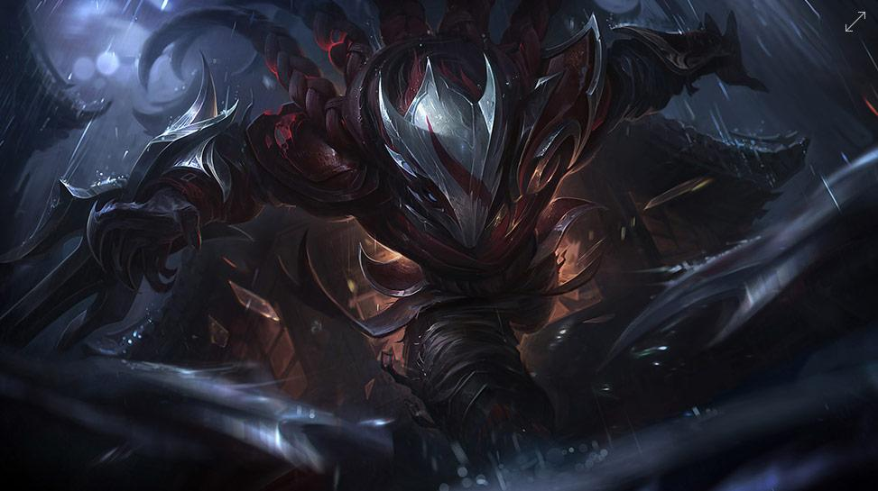 Se Eleva Una Luna De Sangre League Of Legends