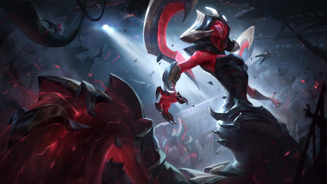 Neuer Skin Eternum Cassiopeia League Of Legends