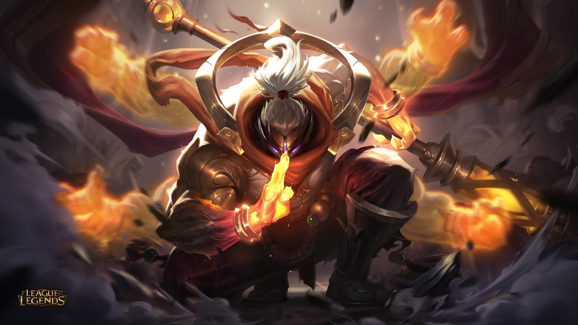 New Epic Skin God Staff Jax League Of Legends