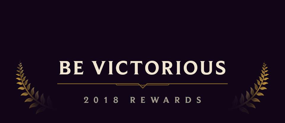 End of Season Rewards 2018 | League of Legends